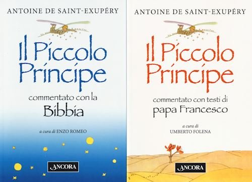 Cofanetto La Bibbia il Papa e Il Piccolo Principe