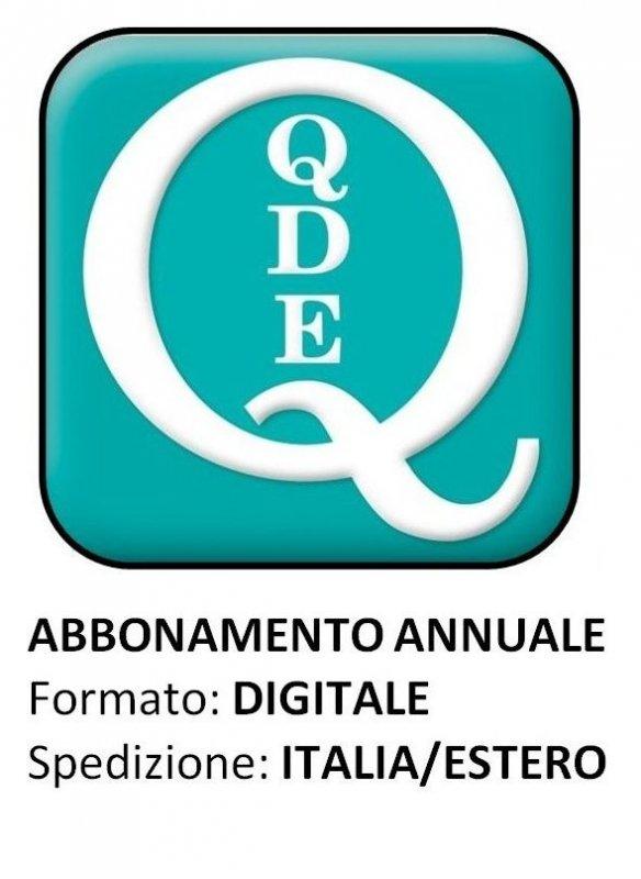 QUADERNI DI DIRITTO ECCLESIALE - Abbonamento digitale 2021