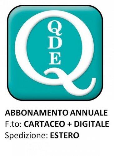 QUADERNI DI DIRITTO ECCLESIALE - ESTERO Cartaceo + digitale 2021