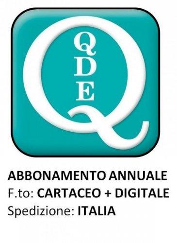 QUADERNI DI DIRITTO ECCLESIALE - ITALIA Cartaceo + digitale 2021